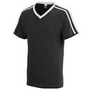 Augusta Sportswear 364 Youth Get Rowdy Shoulder Stripe Tee