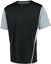 Russell 3R6X2M Performance Two-Button Color Block Jersey