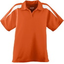 Augusta Sportswear 5087 Ladies Wicking Textured Color Block Polo