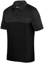 Augusta Sportswear 5412 Shadow Tonal Heather Polo