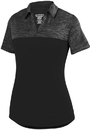 Augusta Sportswear 5413 Ladies Shadow Tonal Heather Polo