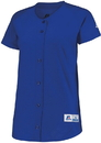Russell Athletic 737VTX Ladies Stretch Faux Button Jersey