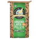 Scratch & Peck Feeds Naturally Free Poultry Layer Feed with Grub Protein, 16%, Organic