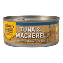 Nature's Greatest Foods Cat Food, Canned, Tuna & Mackerel in Jelly