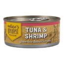 Nature's Greatest Foods Cat Food, Canned, Tuna & Shrimp in Jelly
