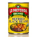 La Preferida Authentic Refried Black Beans, Organic, GY0084