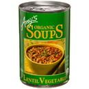 Amy's Lentil Vegetable Soup, Organic - 3 x 14.5 oz