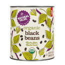 Natural Value Black Beans (BIG can), Organic - 2 x 110 oz