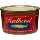 Pure Alaska Red Head, Wild Sockeye Salmon - 3 x 7.5 oz