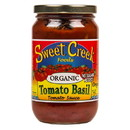 Sweet Creek Foods Tomato Sauce, Tomato Basil, Organic - 16 floz