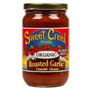 Sweet Creek Foods Tomato Sauce, Roasted Garlic, Organic
