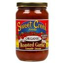 Sweet Creek Foods Tomato Sauce, Roasted Garlic, Organic - 16 floz