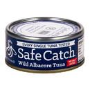 Safe Catch Albacore Wild Tuna Steak, No Salt - 3 x 5 oz