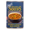 Amy's Quinoa, Kale and Red Lentil Soup, Organic - 3 x 14.4 oz