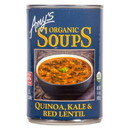 Amy's Quinoa, Kale and Red Lentil Soup, Organic - 14.4 oz