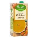 Pacific Foods Chicken Broth, Organic - 32 floz