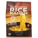 Lotus Foods Millet & Brown Rice Ramen, Family Pack, Organic - 10 oz