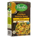 Pacific Foods Chicken Noodle Soup, Organic - 17 oz