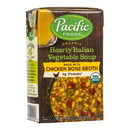 Pacific Foods Hearty Italian Vegetable Soup, Organic - 17 oz