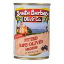 Santa Barbara Black Olives, Pitted, Medium, GY190