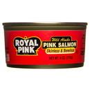Royal Pink Pink Salmon Skinless and Boneless - 3 x 6 oz