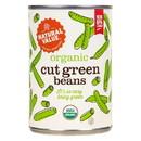 Natural Value Green Beans, Straight Cut, Organic - 3 x 14.5 oz