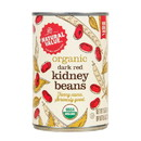 Natural Value Red Kidney Beans, Organic - 3 x 15 oz