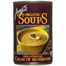 Amy's Cream of Mushroom Soup, Organic, GY420