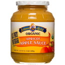 Solana Gold Organics Apricot Apple Sauce in Glass, Organic - 24 oz