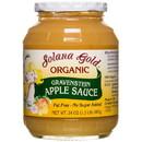 Solana Gold Organics Gravenstein Apple Sauce in Glass, Organic - 24 oz