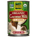 Native Forest Coconut Milk, Classic, Organic, GY490