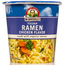 Dr. McDougall's Right Foods Big Soup Cups, Chicken Ramen, with Organic Noodles