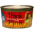 Pure Alaska Think Pink, Wild Pink Salmon - 7.5 oz