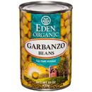 Eden Foods Garbanzo Beans (chick peas), Organic - 15 oz