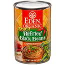 Eden Foods Spicy Refried Black Beans, Organic - 16 oz