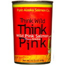 Pure Alaska Think Pink, Wild Pink Salmon, Big Can - 14.75 oz