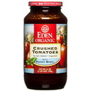 Eden Foods Crushed Tomatoes, Organic in Amber Glass - 25 oz