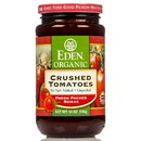 Eden Foods Crushed Tomatoes, Organic in Amber Glass - 14 oz