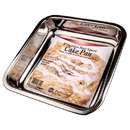 Norpro Cake Pan, Stainless Steel, 8 x 8 x 1.75 inch, HA037