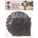 Norpro Charcoal Filter Replacements for Compost Keeper, HA132