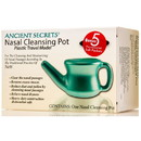 Ancient Secrets Nasal Cleansing Pot, Plastic (for travel), HB041
