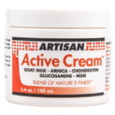 Artisan Active Cream, Goat Milk - 3.4 oz