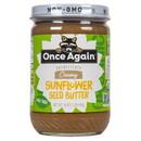 Once Again Nut Butter, Inc. Sunflower Butter, Unsweetened, Salt Free, Organic - 3 x 16 oz