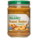 Santa Cruz Peanut Butter, Dark Roasted, Crunchy, Organic - 3 x 16 oz