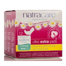 Natracare Ultra Extra Pads, Normal with wings - 6 x 12 ct