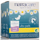 Natracare Ultra Long Pads with Wings, Natural - 3 x 10 ct