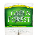 Green Forest Bathroom Tissue, 352 ct 2 ply, (4 Roll/Pack) Recycled - 3 x 4 rolls