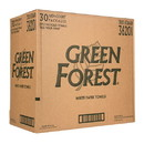 Green Forest Paper Towel, 2-Ply, White, (1 Roll/Pack), Recycled - 30 x 1 roll