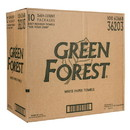 Green Forest Paper Towel, 2-Ply, White, (3 Roll/Pack), Recycled - 10 x 3 rolls