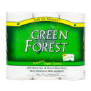 Green Forest Paper Towel, 2-Ply, White, (3 Roll/Pack), Recycled - 2 x 3 rolls